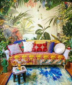 Bohemian room decor // Saved by Indigo Sunshine