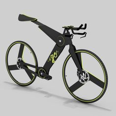 azor - bicycle prototype by Konstantin Datz, via Behance