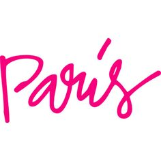 Paris is Pretty in Pink