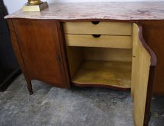 French Deco Louis XVI Buffet | From a unique collection of antique and modern buffets at http://www.1stdibs.com/furniture/storage-case-pieces/buffets/