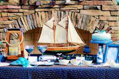 Bastelideen für den Sommer - Tischdecke mit Fischernetz