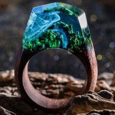Azure Falls Mysecretwood rings