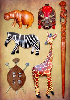 African curios & carvings handmade in South Africa. Deco, African Artists, African Masks, African Jewelry, Zulu, Walking Sticks, Corporate Gifts, Tigger, African Fashion