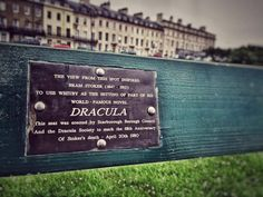 Travels to Whitby: My Search for Count Dracula's Birth Certificate... see: http://vamped.org/2016/07/24/travels-to-whitby-my-search-for-count-draculas-birth-certificate/