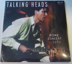 Online veilinghuis Catawiki: Talking Heads - Rome Concert 1980 * 2LP * Direct Metal Mastering