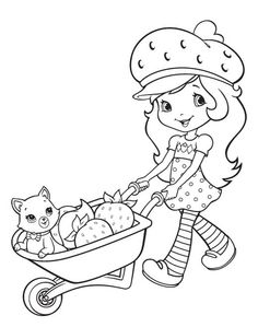 There are many high quality Strawberry Shortcake coloring pages for your kids - printable free in one click. Frozen Coloring Sheets, Princess Coloring Pages, Coloring Pages For Girls, Cute Coloring Pages, Cartoon Coloring Pages, Coloring For Kids, Coloring Books, Strawberry Shortcake Coloring Pages, Strawberry Shortcake Characters