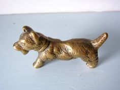 Westie, West highland, scottish terrier, Highland Terrier, brass dog, dog figurine, scottie dog, dog ornament, gift for her, solid brass dog Highlands Terrier, West Highland Terrier, Dog Ornaments, Vintage Ornaments, Scottish Terrier, Scottie Dog, Westies, Magpie