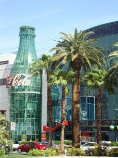 Coca cola shop Las Vegas