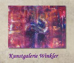 Abstrakte Acrylbilder Leinwandbilder Unikat  von Kunstgalerie Winkler auf DaWanda.com