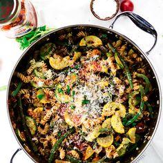 Summer Vegetable One Pot Pasta