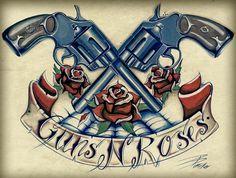 guns n roses tattoo - Google Search