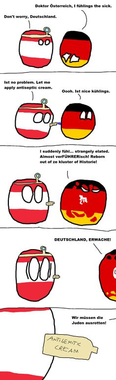 """Wiggly mouse-drawn comics where balls represent different countries. They poke fun at national stereotypes and the """"international drama"""" of their. Haha Funny, Funny Jokes, Lol, History Jokes, Some Jokes, Fantasy Comics, How To Make Comics, Fun Comics, Humor"""