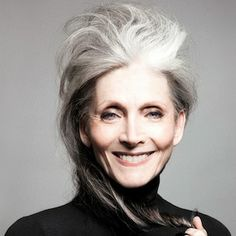 Eveline Hall...began modeling at age 65. Beautiful..