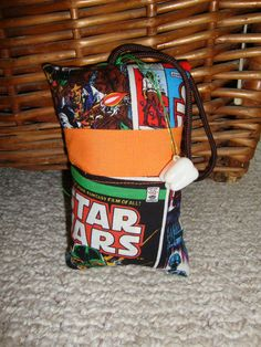 Star Wars Tooth Fairy Pillow with tooth holder by suespecialtyshop, $6.95