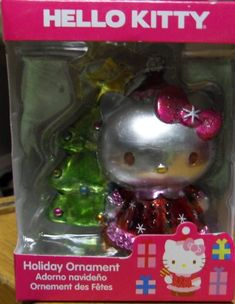 Metalic Hello Kitty and Christmas Tree Ornament *** Visit the image link more details.