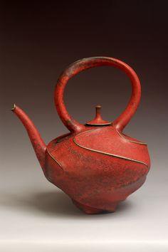 Jim Connell, ceramic teapot