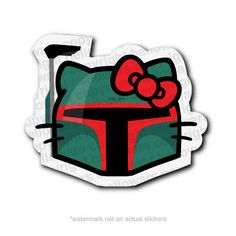 Boba Kitty Sticker by hellowars on Etsy, $2.00