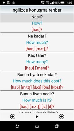 This Pin was discovered by nes English Study, English Class, English Lessons, Learn English, Language Study, English Language, Vocabulary Journal, Turkish Lessons, Learn Turkish Language