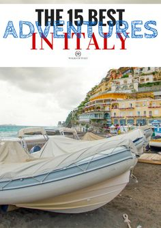 A Guide to Our Favorite Outdoor Adventures In Italy - Walks of Italy Beautiful Vacation Spots, Parasailing, Lake Garda, Archipelago, Amalfi Coast, Beautiful Islands, Rafting, Italy Travel, Places To Go