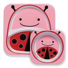 "Skip Hop Zoo Melamine Tabletop Set - Ladybug - Skip Hop - Toys ""R"" Us"
