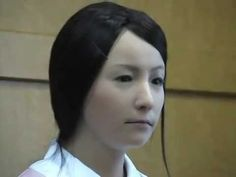 I was surprised when I saw this as a robot with facial expressions could give anyone nightmares. Japanese nurse robot (Actroid-F) This robot can exercise facial movements, gestures, speaking, and other movements showing that how robotics have come. Science News, Science And Technology, Human Like Robots, Japanese Robot, Humanoid Robot, I Robot, Robot Design, Real Women, Android