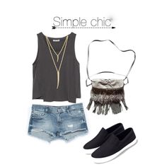 Simple chic #1 by itisacs on Polyvore featuring polyvore, fashion, style, Zara and CC SKYE