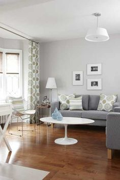 Modern Interior Design, 9 Decor and Paint Color Schemes that Include Gray Color #1