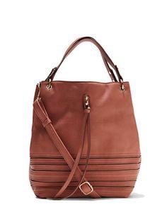 Bucket Shoulder Bag  - New York