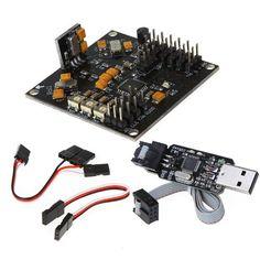 KKmulticopter V5.5 Board V2.2 Program + USB Programmer Firmware Loader Unknown http://www.amazon.com/dp/B006U9KX2K/ref=cm_sw_r_pi_dp_wjK.tb103SGYC