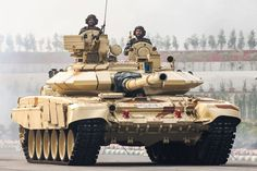 Russian T-90 Type Tank with ERA