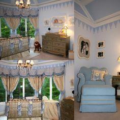 My baby boy royal prince room theme