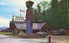 Giant Smokey Bear, Weird Woods, Revelstoke BC