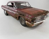 Rusty model car