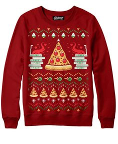Pizza Holiday Sweatshirt