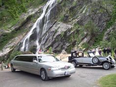 Navy & Silver Beauford Wedding Car Hire in dublin see more on http://www.kpcd.ie  http://www.kpcd.ie/wedding-cars.html