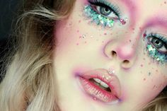 Glitter make up                                                                                                                                                                                 More