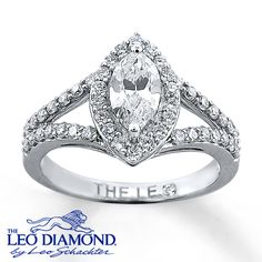 All that glitters is gold. White gold. And diamonds. I'm okay with diamonds glittering too. Especially in this ring!