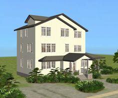Mod The Sims - Beach Terrace Corner House