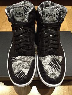 promo code af227 5a790 NIKE AIR JORDAN 1 RETRO HIGH BHM MENS UK 7 EU 41 Limited Edition Black  Nike   AirJordan  Retro  LimitedEdition  StreetFashion  Trainers  Sneakers ...