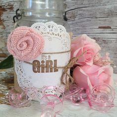 DIY Baby Shower Decorations for 5 Jars It's by DenaDanielleDesigns