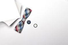 paper shirt - Paper shirt with colored bow tie