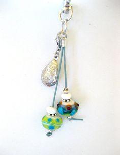 Schlüsselanhänger, Taschenanhänger, Medaillon, Geschenke für Frauen, Glasperlen, Lampwork beads Lampwork Beads, Colored Glass, Gifts For Women, Glass Beads, Drop Earrings, Pocket, Personalized Items, Etsy, Pendants
