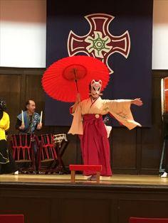 16.11/3.「東区まちそだての会」剣舞、女剣士「成瀬朝香」
