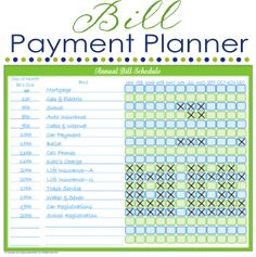 Organizing with Printable Schedules ~ Organize Your Kitchen Frugally Day 24 | Organizing Homelife