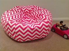 38 ideas for baby bedroom pink children Baby Girl Nursery Decor, Baby Bedroom, Baby Decor, Kids Bedroom, Bedroom Ideas, Hot Pink Furniture, Toddler Lounge Chair, Kids Bean Bags, Bedroom Furniture Makeover