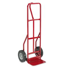 Safco Two-Wheel Steel Hand Truck 500-pound Capacity 18-inch wide x 47-inch high