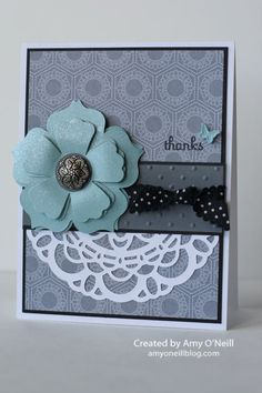 Stampin' Up! Doily   by Amy O'Neill at Amy's Paper Crafts