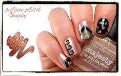 piCture pOlish Majesty nail art creation by Karine aka Naildarella! Spectacular!