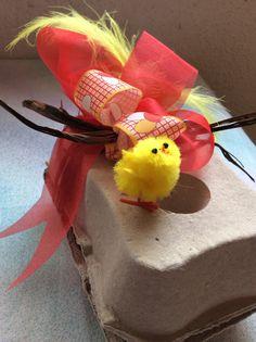 La Monade Pasqua. Chocolate eggs box.
