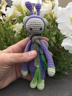 BUZZ the housefly made by Kimberlie / crochet pattern by lalylala